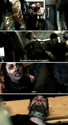 Raven and Murphy #The100 #5x05