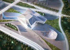 Sejong Center for Performing Arts by Asymptote