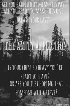 The Amity Affliction   New Album   Pre-Order   Can't Wait   <3   http://www.impericon.com/en/the-amity-affliction.html