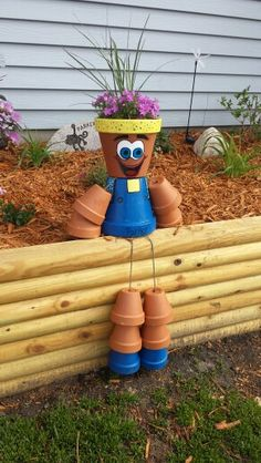Flower pot people