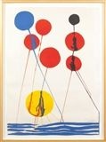 Alexander Calder - Untitled, lithograph in color on MutualArt.com