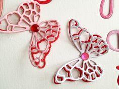 Love, Love, Love - Handmade Card