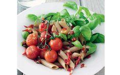 penne med friske tomater - fit living