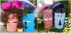 5 Awesome Ideas to Repurpose Metal Barrels We now have a burn barrel. This would be great