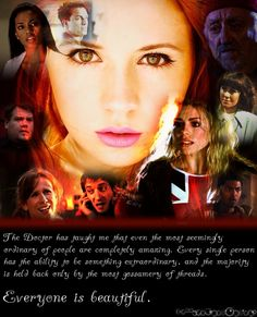 Whovian Confessions - the doctor has taught me that even the most seemingly ordinary of people are completely amazing.  every single person has the ability to be something extraordinary, and the majority are held back only by the most gossamery of threads.  everyone is beautiful.