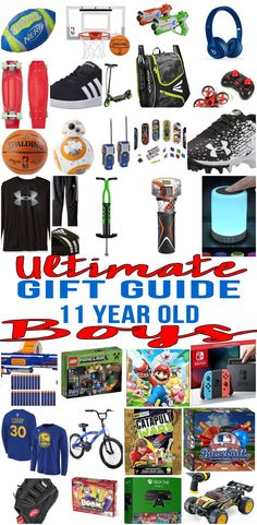 BEST Gifts 11 Year Old Boys The Ultimate Gift Guide Ideas For Olds