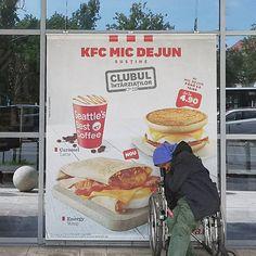 KFC breakfast . . . #bucuresti #bucharest #loves_bucharest #ig_bucharest #streetstyle #streetphotography #streetlife #street_vision…