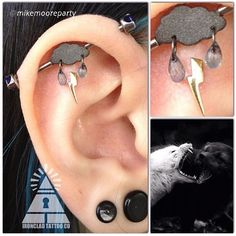 piercingsbyaj:  legitbodyjewelry:  This may be the coolest piece of jewelry I've seen this year!