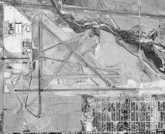 Denver Stapleton Municipal Airport Sept. 25, 1953