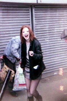 Shirley Manson, the Garbage singer in 1990s.