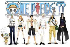 DeviantArt: More Like One Piece marine version by ChirashiMaro
