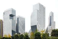Steven Holl Architects, OPEN Architecture, Hufton + Crow · Sliced Porosity Block