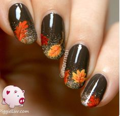 Fall nails - Faith