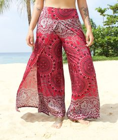 779e5c6f3 Slip into Paradise with our free-flowing boho yoga pants from Thailand!  These are