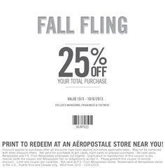 Aeropostale coupons & Aeropostale promo code inside The Coupons App. off at Aeropostale, or online via promo code May June Calendar Printable, Free Printable Coupons, Free Coupons, Print Coupons, Printable Cards, Printables, Shopping Coupons, Online Coupons, Love To Shop