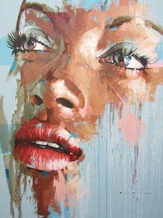 Jimmy Law is a self-taught artist and painter of expressive portraits and resides in Cape Town, South Africa. '- I was born in Bloemfontein in the Orange Free State on 26 September 1970. I matriculated in 1989. In 1990 I enrolled to study a three year Graphic Design Diploma course at the Technicon of the Orange Free State.