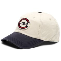 c01f2e92494 Chicago Cubs 1916 New-Timer Adjustable Slouch Cap by American Needle