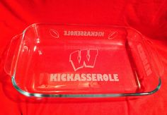 Wisconsin Badgers Kickasserole  Shipped For FREE by IslandGraphics
