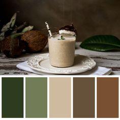 Green colors, coffee mug, warm earthy colors Bedroom Colour Palette, Earthy Color Palette, Green Colour Palette, Color Palate, Bedroom Color Schemes, Bedroom Colors, Green Colors, Apartment Color Schemes, Earthy Colours
