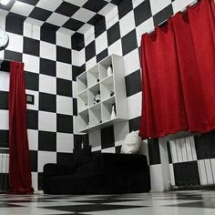 Starting Escape Room Business? Save Money on Decor! Read our Article on our blog LushesCurtains.com/blog @lushescurtains