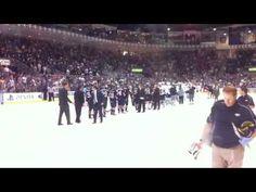 Marlies off to Calder Cup Finals - Western Conference Finals Handshake line.