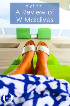 While at the W Maldives, I tried the spa twice. I meant to go every day, but I fell ill and couldn't. I really enjoyed my massage (priced at $150++ for 50 mins) and the post treatment views.