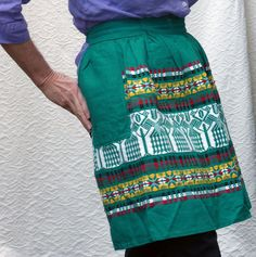 Vintage Mexican Apron by EdwardianAura on Etsy, $24.00