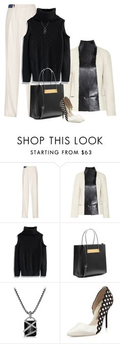 """Another Classic"" by lisa-holt ❤ liked on Polyvore featuring Preen, Joseph, Chicwish, Balenciaga, David Yurman and Sophia Webster"