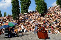Visit Mauerpark in Berlin for a summer karaoke scene straight from the '60's