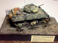 """The Long and Winding Road""- U.S. Army Sherman M4A3 75mm Gun"