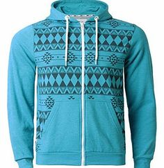 D-Code Mens Fleece Hoodie Aztec Print Full Zip Hooded Sweatshirt Jacket D Code 1E 2055, Mid Turquoise Marl, Full zip fastening, Contrast white zip, Kangaroo patch pocket at front, Aztec print to front, Hood with adjustable cord, D Code woven tab to right side seam, Machine wash (Barcode EAN = 5055796958467) http://www.comparestoreprices.co.uk/designer-knitwear/d-code-mens-fleece-hoodie-aztec-print-full-zip-hooded-sweatshirt-jacket-d-code-1e-2055-mid-turquoise-marl-.asp
