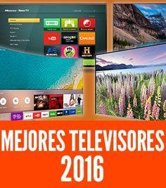 Los mejores televisores 2016 del mercado. Comparativa de televisores por tamaño (desde 32 pulgadas hasta 75), por tecnología y detalles (4K, 3D y más)