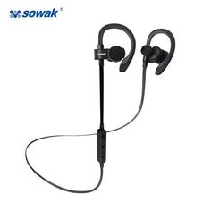 Sowak Bluetooth 4.1 Wireless Sport Headphones Sweatproof Running Gym Exercise Headset with Mic