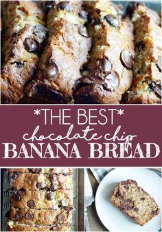 The Best Chocolate Chip Banana Bread | eBay