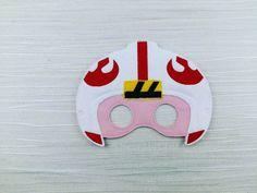 Galaxy Rebel Star Wars Felt Mask Costume Luke Skywalker Mask Party Favor Felt Dress Up Birthday Party Halloween by AHeartlyCraft on Etsy