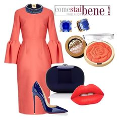 by carolinabeauperthuy on Polyvore featuring polyvore, мода, style, Roksanda, Christian Louboutin, Jeffrey Levinson, Kate Spade, Only Child, Milani, Lime Crime, Sonia Kashuk, fashion and clothing