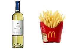 fast food and wine pairings!