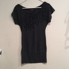 Delirious tunic dress Cute dress or tunic looks great with black leggings size small worn once Delirious Tops Tunics