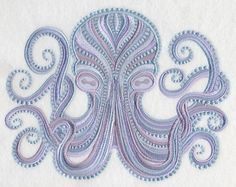 Seadreams Octopus design (L1625) from www.Emblibrary.com