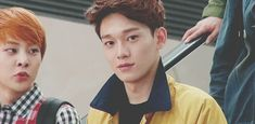 #exo #chen #jongdae i don't know what to do when you do this