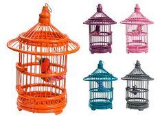 beeldige vogelkooi met vogeltje Bakker made with love | kinderen-shop Kleine Zebra