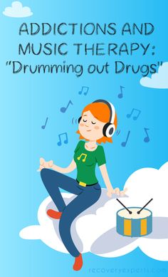 """Addictions and Music Therapy: """"Drumming out Drugs"""" - Drum therapy, and other activities designed to open up new creative possibilities, help those in recovery to discover their own preferences for a drug-free lifestyle. Read this full article: https://recoveryexperts.com/rebuzz/health/addictions-and-music-therapy-drumming-out-drugs"""