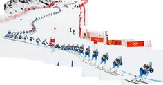 Ted Ligety in Giant Slalom (http://www.nytimes.com/newsgraphics/2014/sochi-olympics/giant-slalom.html)
