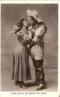 *Young Buffalo Bill and Caroline May Blaney