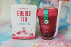 Hydrating night cream that looks like a yummy bubble tea drink. | 36 Amazing Gifts For People Obsessed With Korean Beauty
