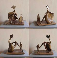 ARTFINDER: dami & gama by Paweł Jackowski - bronze cast