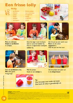 Een frisse lolly Kids Meals, Easy Meals, Little Chef, Cooking With Kids, No Time For Me, Delicious Desserts, Have Fun, Bbq, Tasty