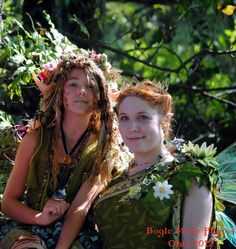 Queen Titania and Foxglove Glasswing