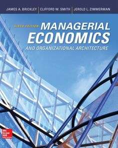Managerial economics organizational architecture 6th edition managerial economics and organizational architecture 6th edition isbn 0073523143 9780073523149it is a pdf ebook only digital book only fandeluxe Image collections