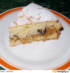 Smotanový jablkový koláč z remosky /Smetanová buchta s jablky z remosky Vanilla Cake, Cheesecake, Baking, Shape, Cheesecake Cake, Bread Making, Patisserie, Cheesecakes, Backen